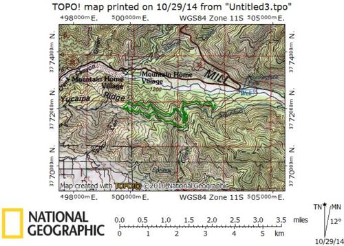 Bear Paw Reserve 8 mile loop